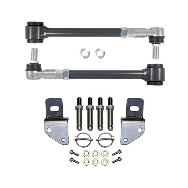 Wobble Light Shock Disk: Synergy Jeep JK Front Sway Bar Quick Disconnect Kit