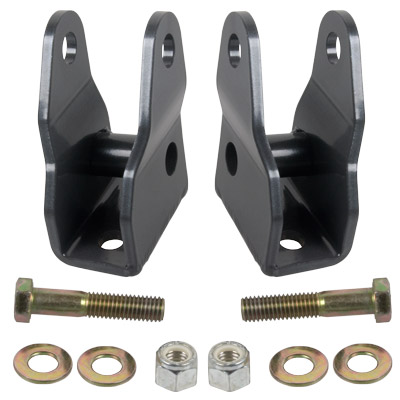 Jeep JK Front Lower Shock Extension Brackets