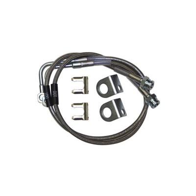 Synergy 8066 Front/Rear Extended Brake Line Kit for 07-18 Wrangler JK