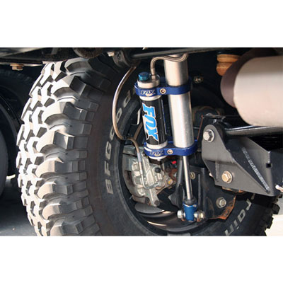 Jeep JK Universal Brake Line Installed in Rear of Vehicle