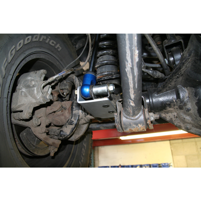 Jeep Jeep JK Front Shock Mount Bracket - Installed