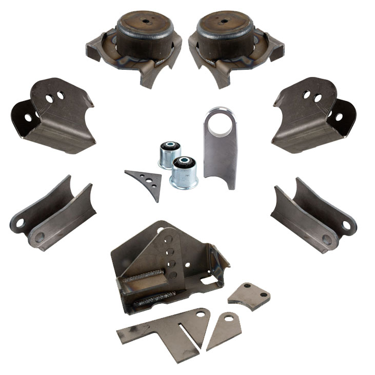 Synergy Jeep JK HD Front Axle Bracket Kit