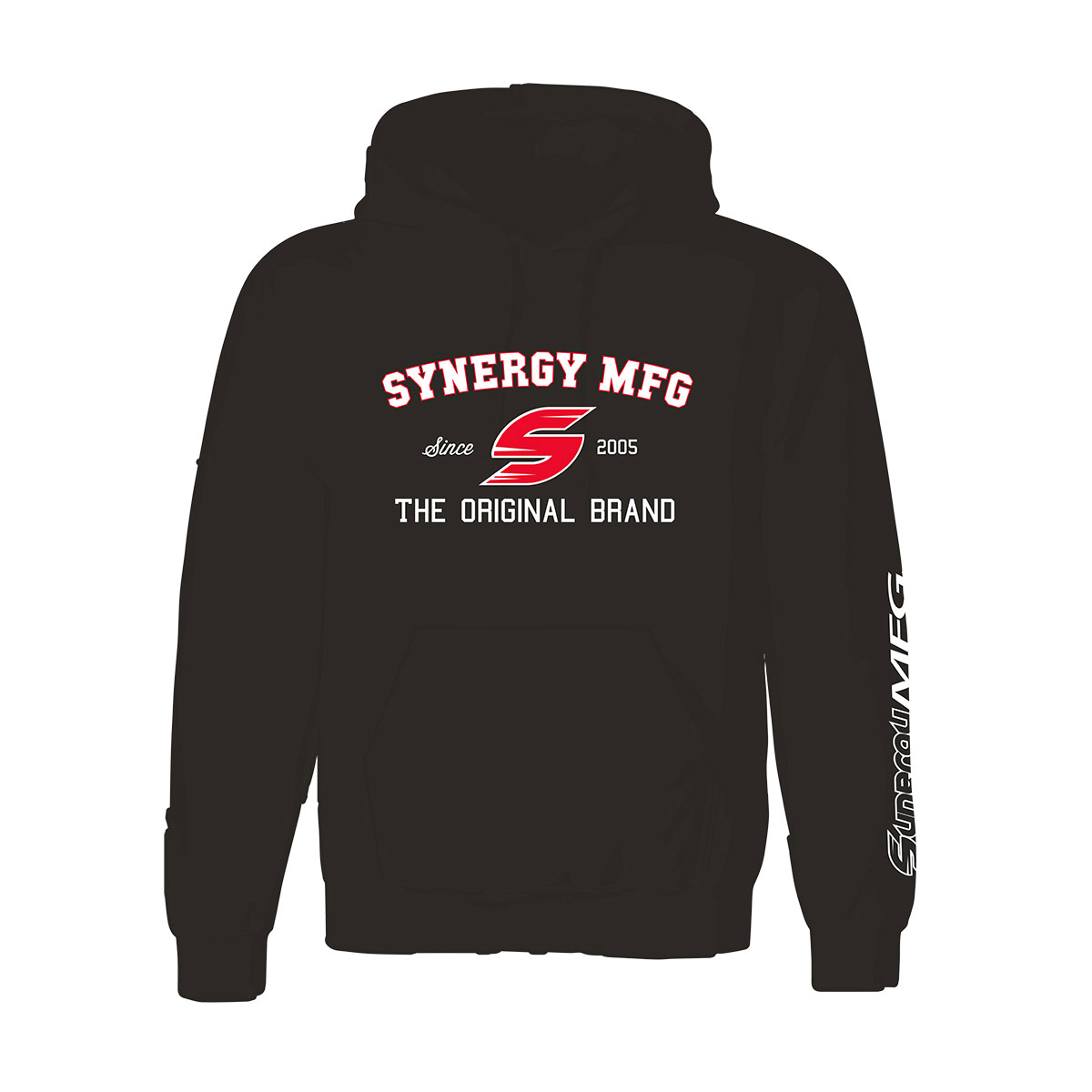 "Synergy ""The Original Brand"" Black Hoodie"