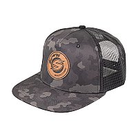 Synergy Digi Camo Synergy Branded Leather Patch Trucker Hat