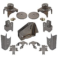 Jeep JK Rear Axle Bracket Kit