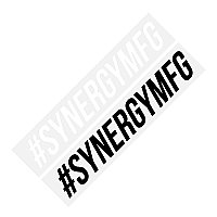 #SynergyMFG Die Cut Decal