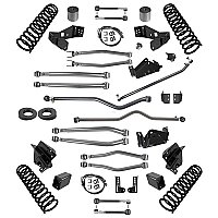 "Synergy Jeep JK Stage 4 Long Arm Suspension System, 4/4.5"" Lift"