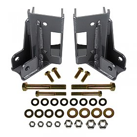 Synergy Jeep JK Rear Lower Control Arm Skids with Integrated Shock Mounts