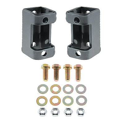 TJ/LJ Front Lower Shock Relocation Brackets