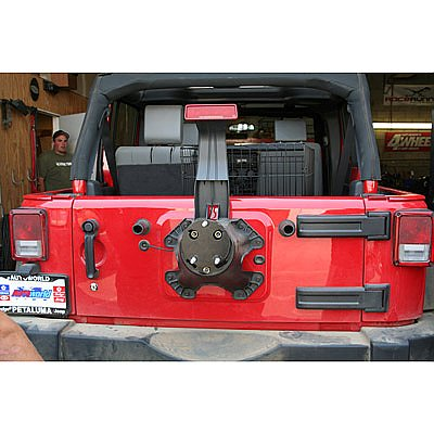 Jeep JK Spare Wheel Mount Adapter