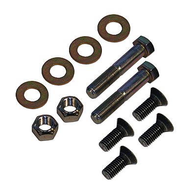 Jeep JK Rear Upper Shock Mount Kit Hardware